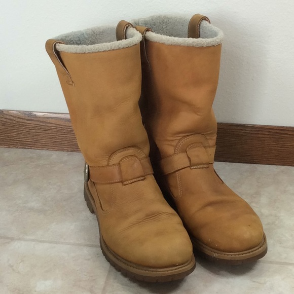 Timberland Shoes | Nellie Pull On Leather Boots | Poshmark